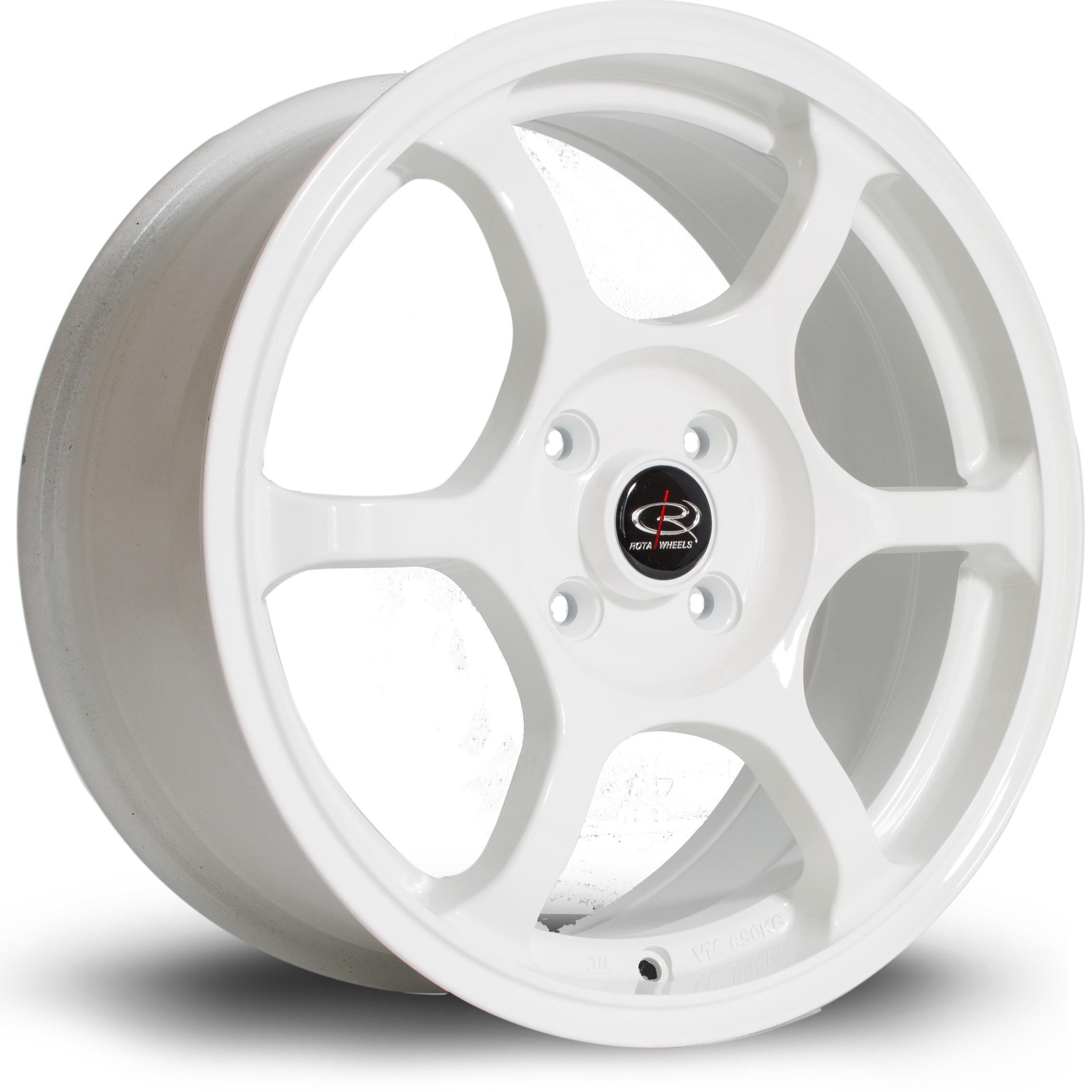 ROTA Boost hliníkové disky 7x16 4x100 ET45 White