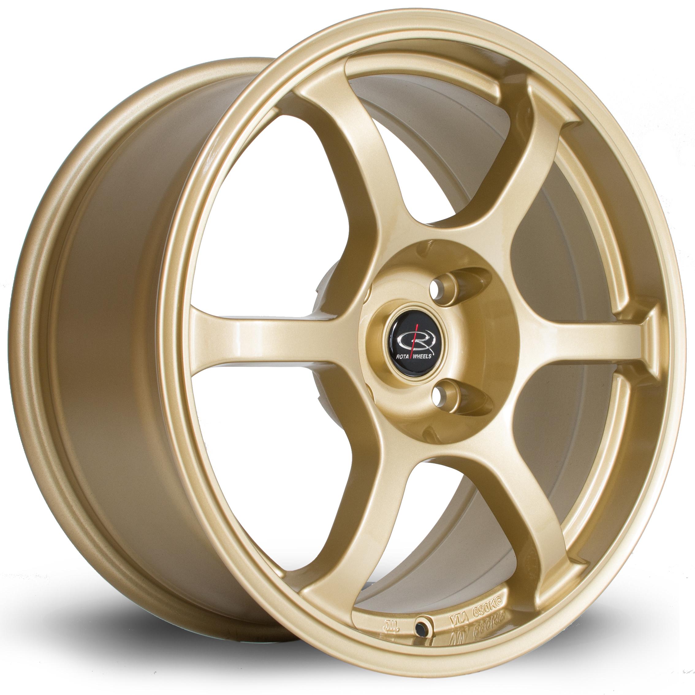 ROTA Boost hliníkové disky 8x17 5x114,3 ET35 Gold