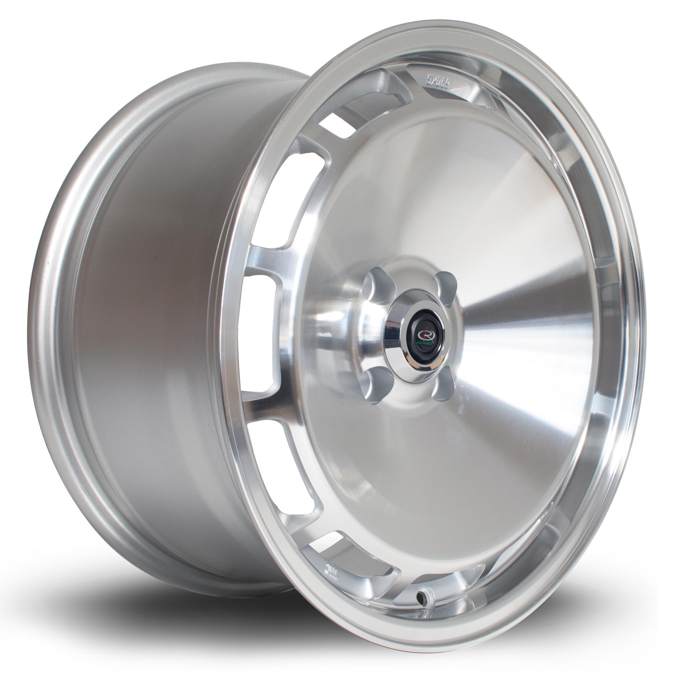 ROTA D154 hliníkové disky 8x16 4x108 ET20 PFSilver