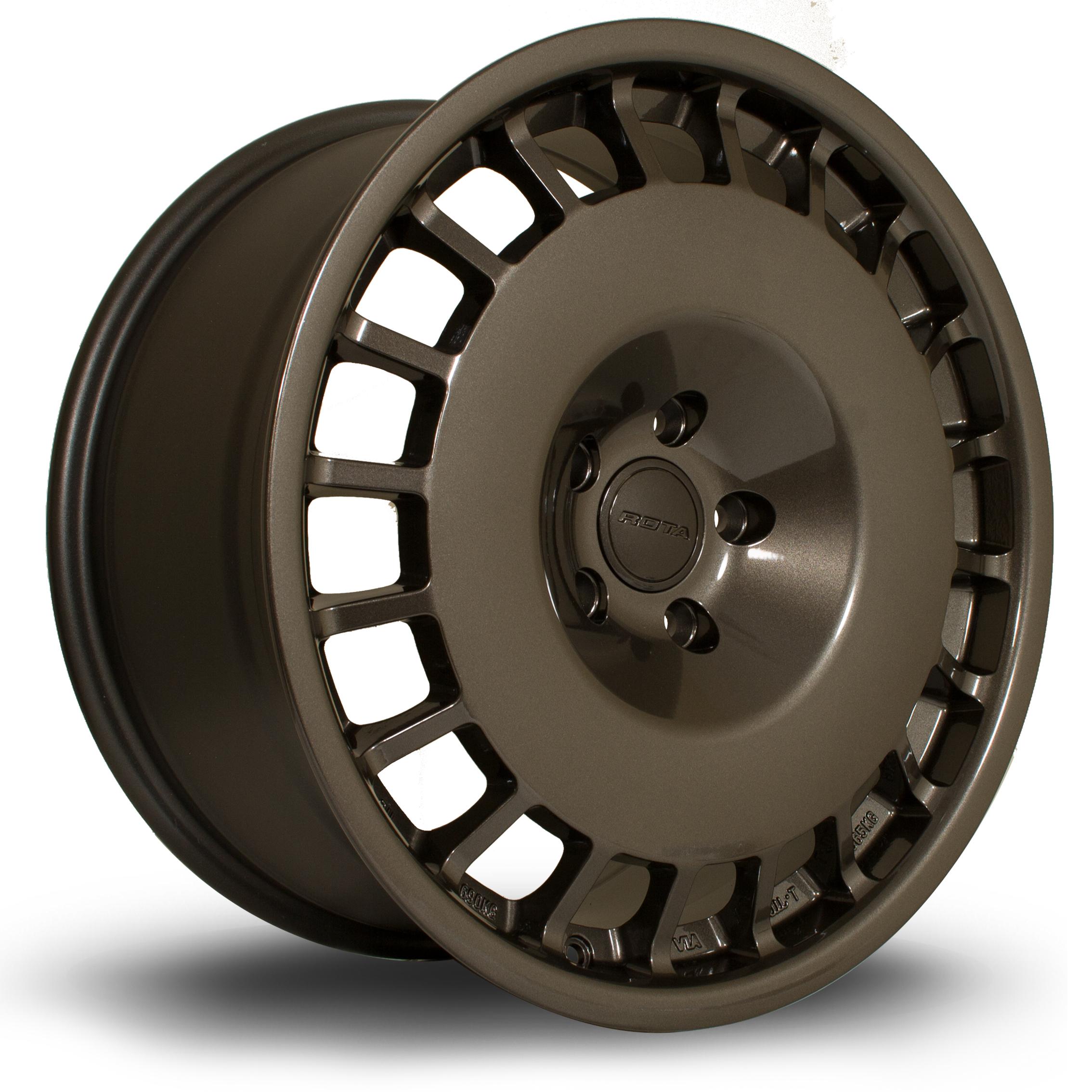 ROTA D154 hliníkové disky 8,5x18 5x112 ET45 Gunmetal