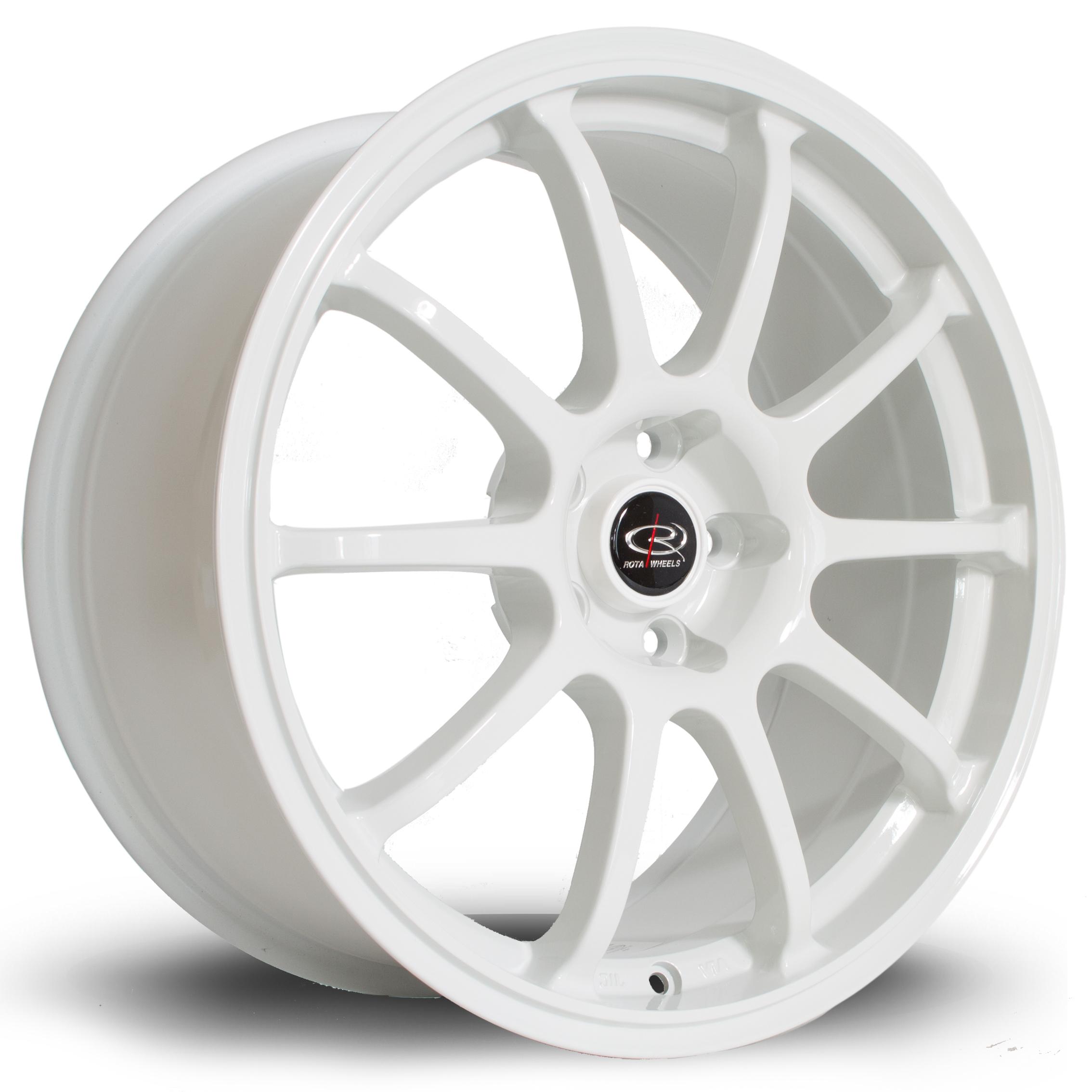 ROTA Force hliníkové disky 7,5x17 5x114,3 ET45 White