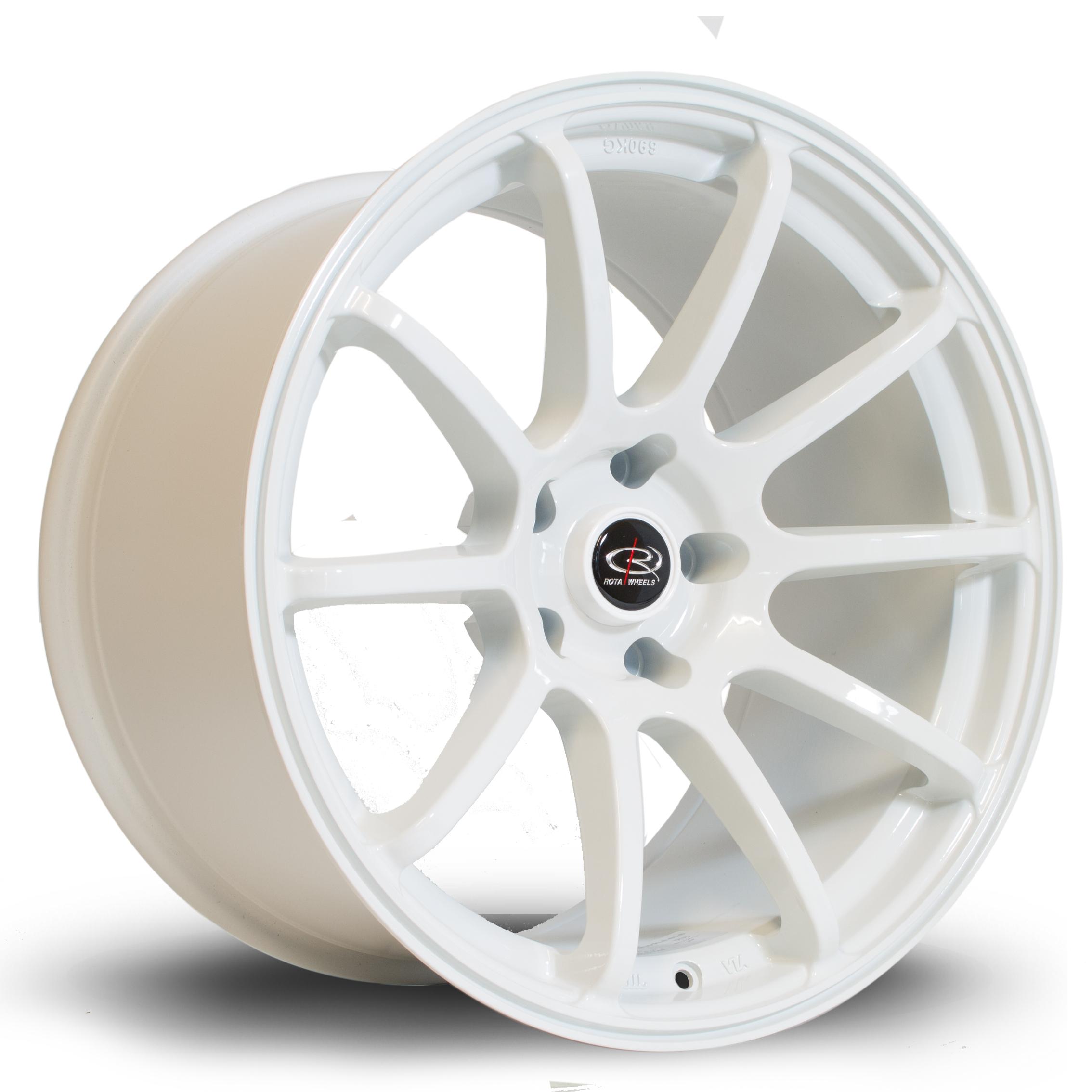 ROTA Force hliníkové disky 10,5x18 5x114,3 ET20 White