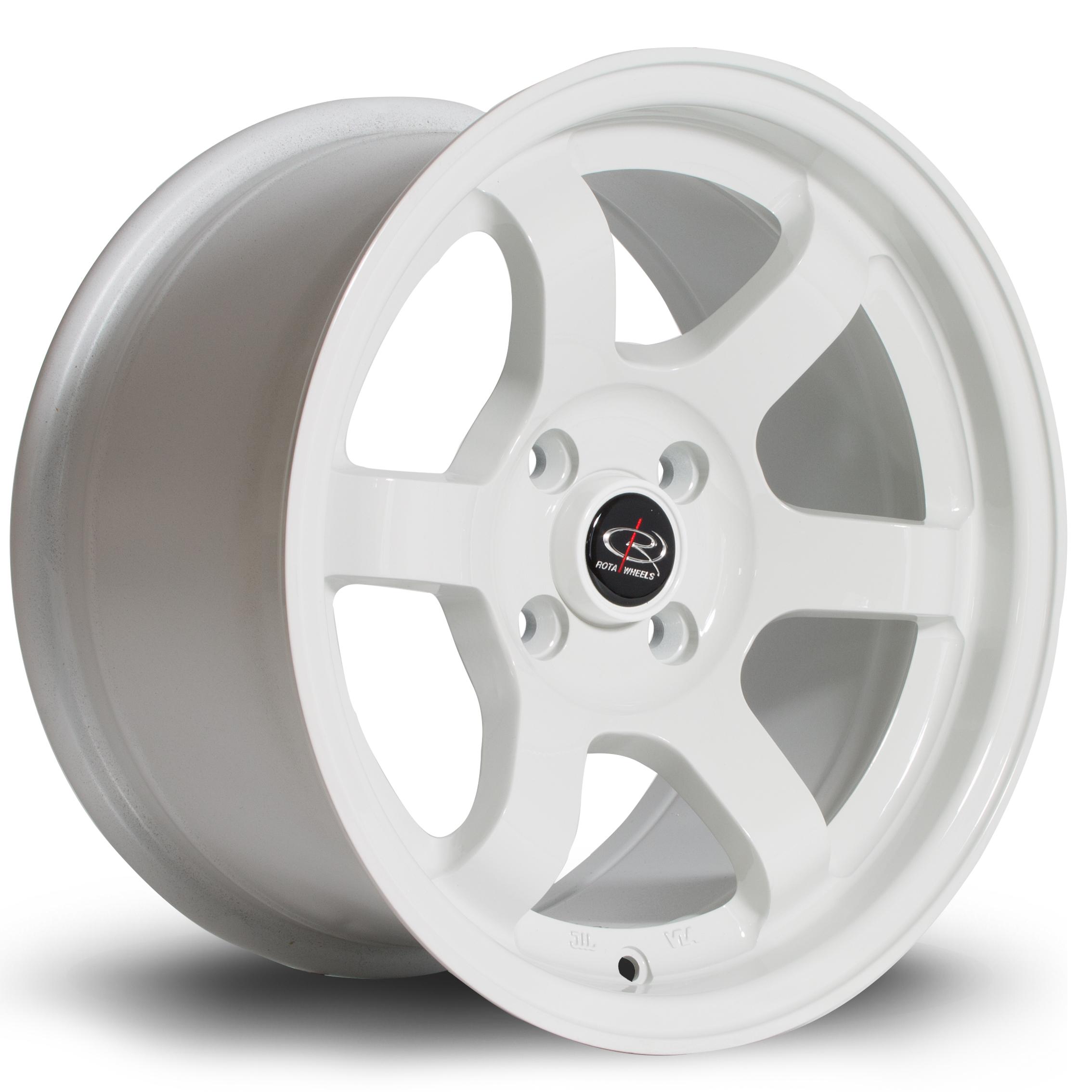 ROTA Grid hliníkové disky 8x15 4x100 ET20 White