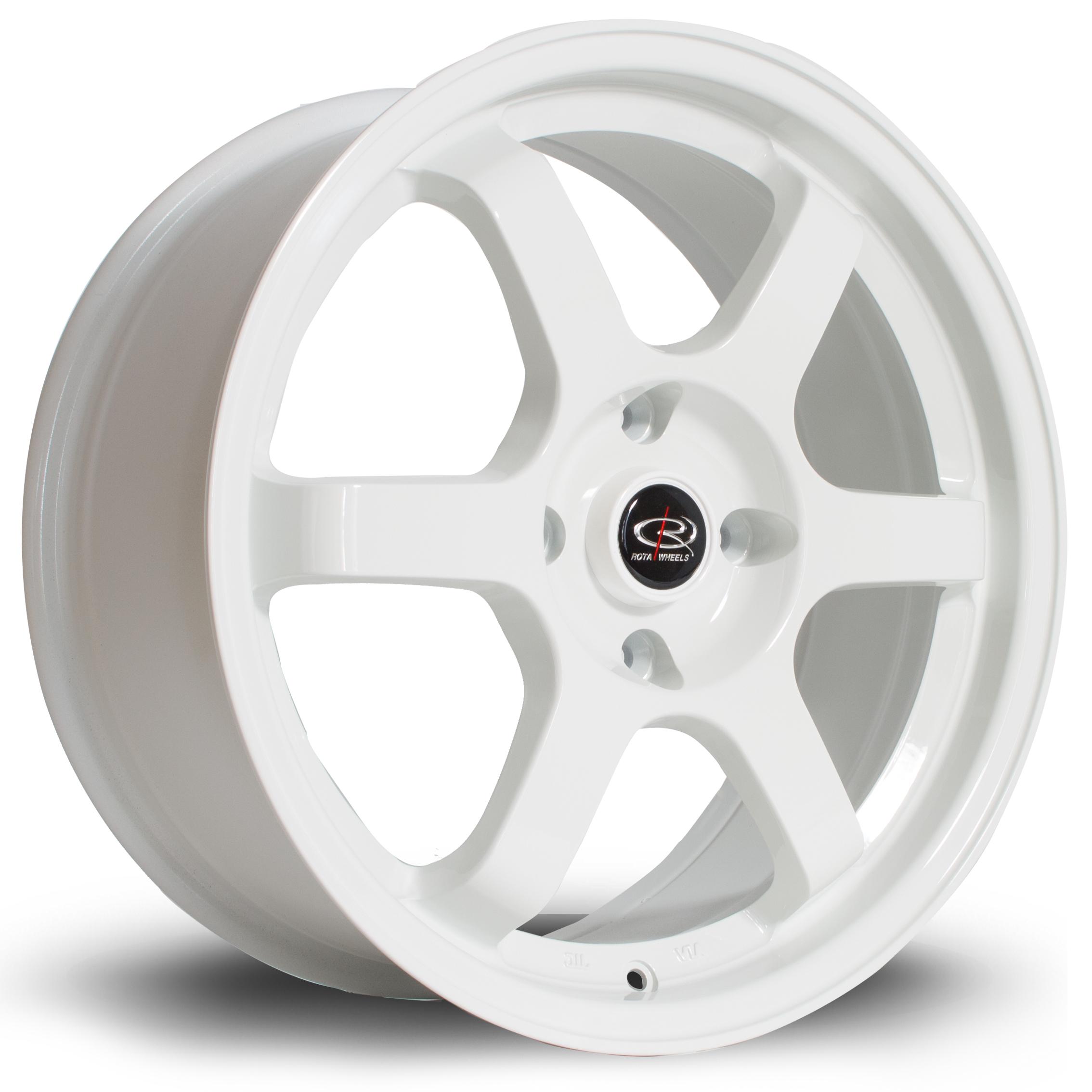 ROTA Grid hliníkové disky 7,5x17 4x100 ET45 White