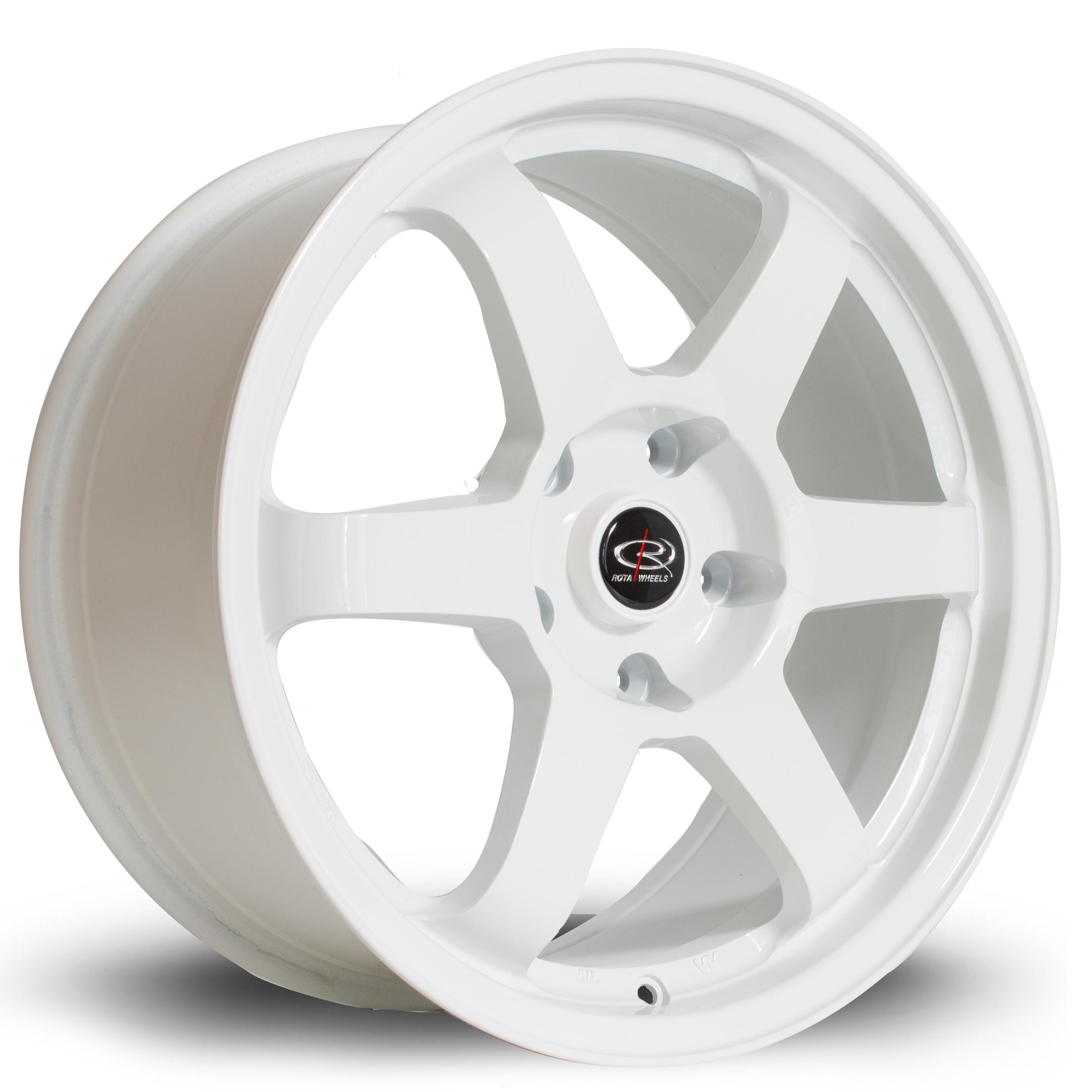 ROTA Grid hliníkové disky 8x17 5x110 ET35 White