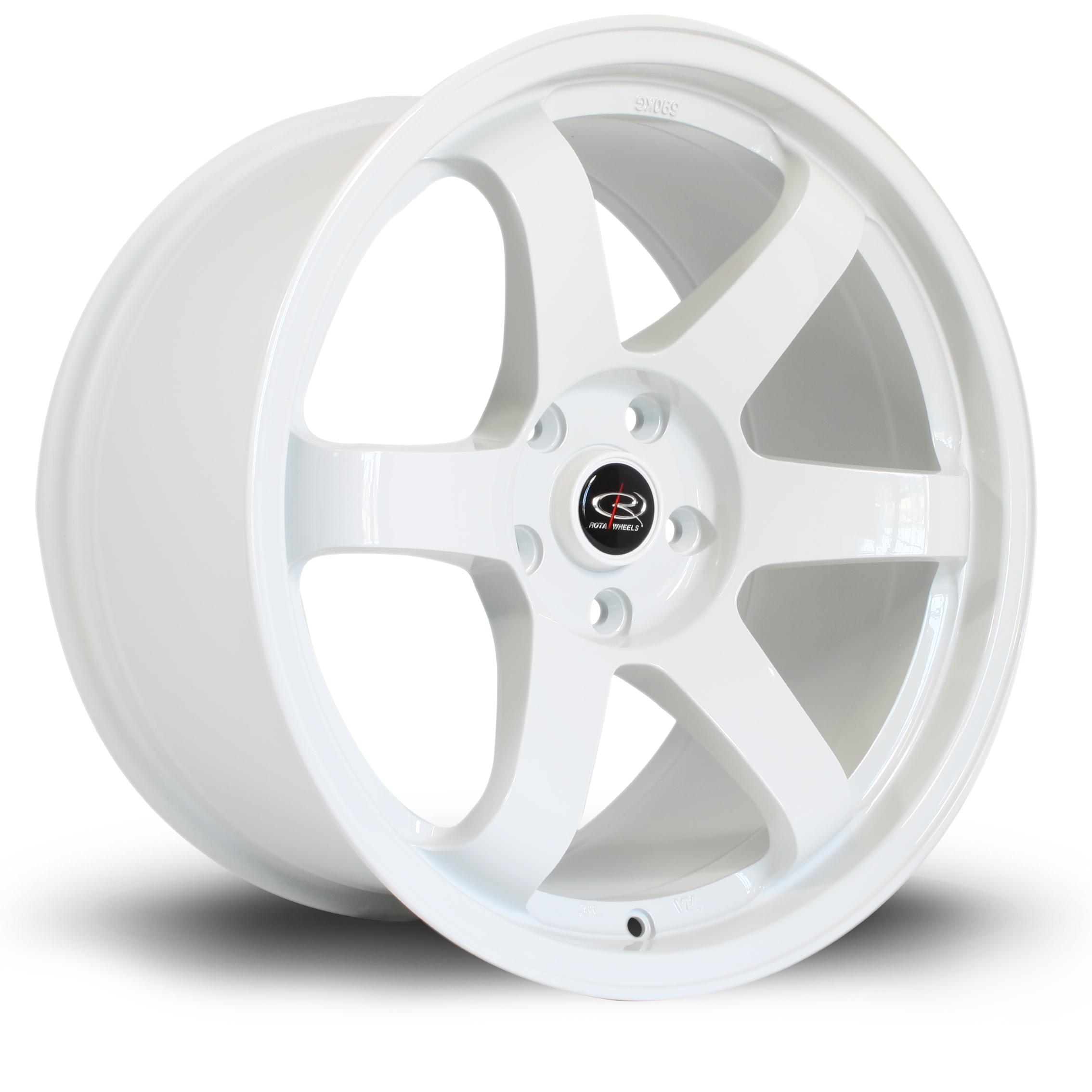 ROTA Grid hliníkové disky 9,5x18 5x114,3 ET30 White