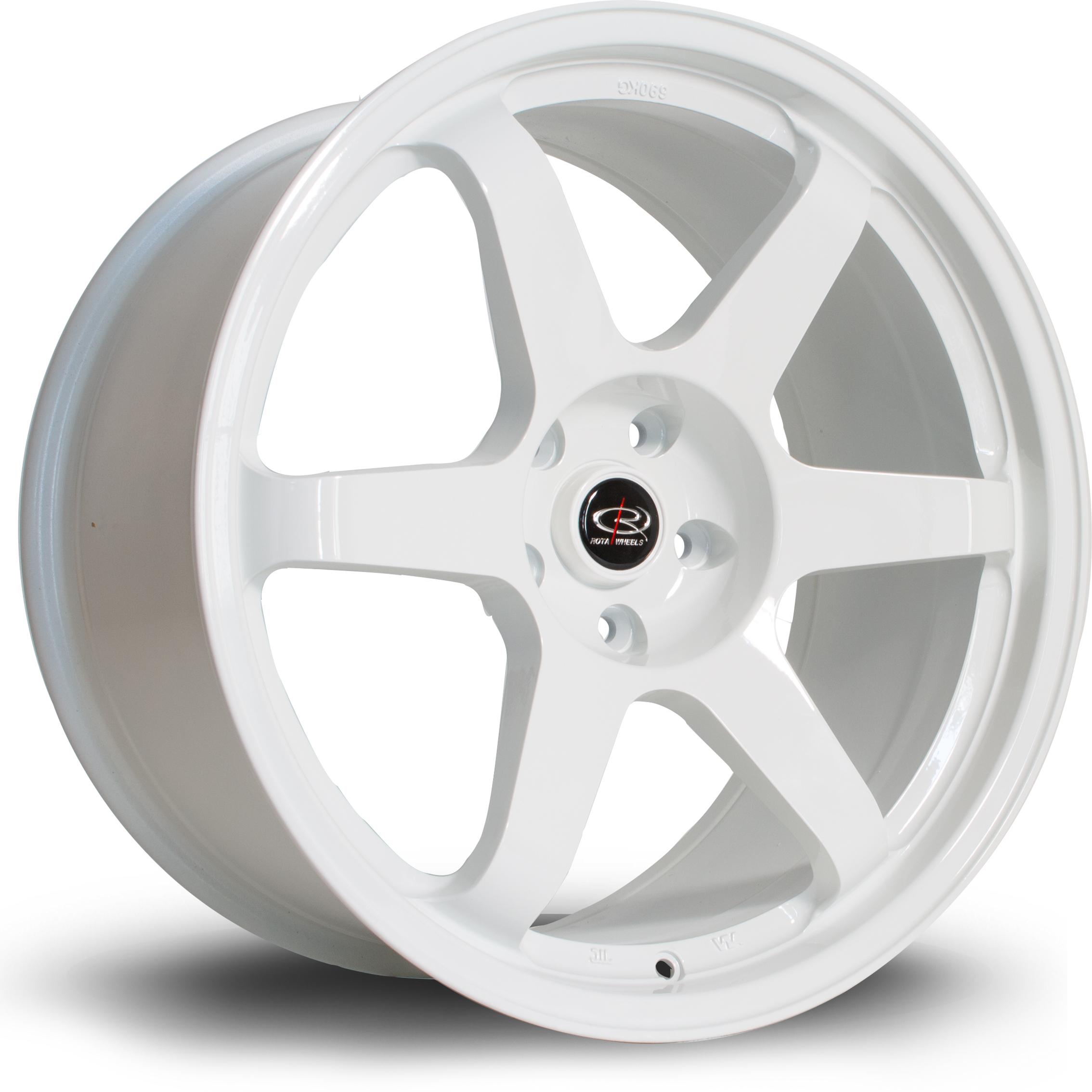 ROTA Grid hliníkové disky 9,5x19 5x114,3 ET20 White