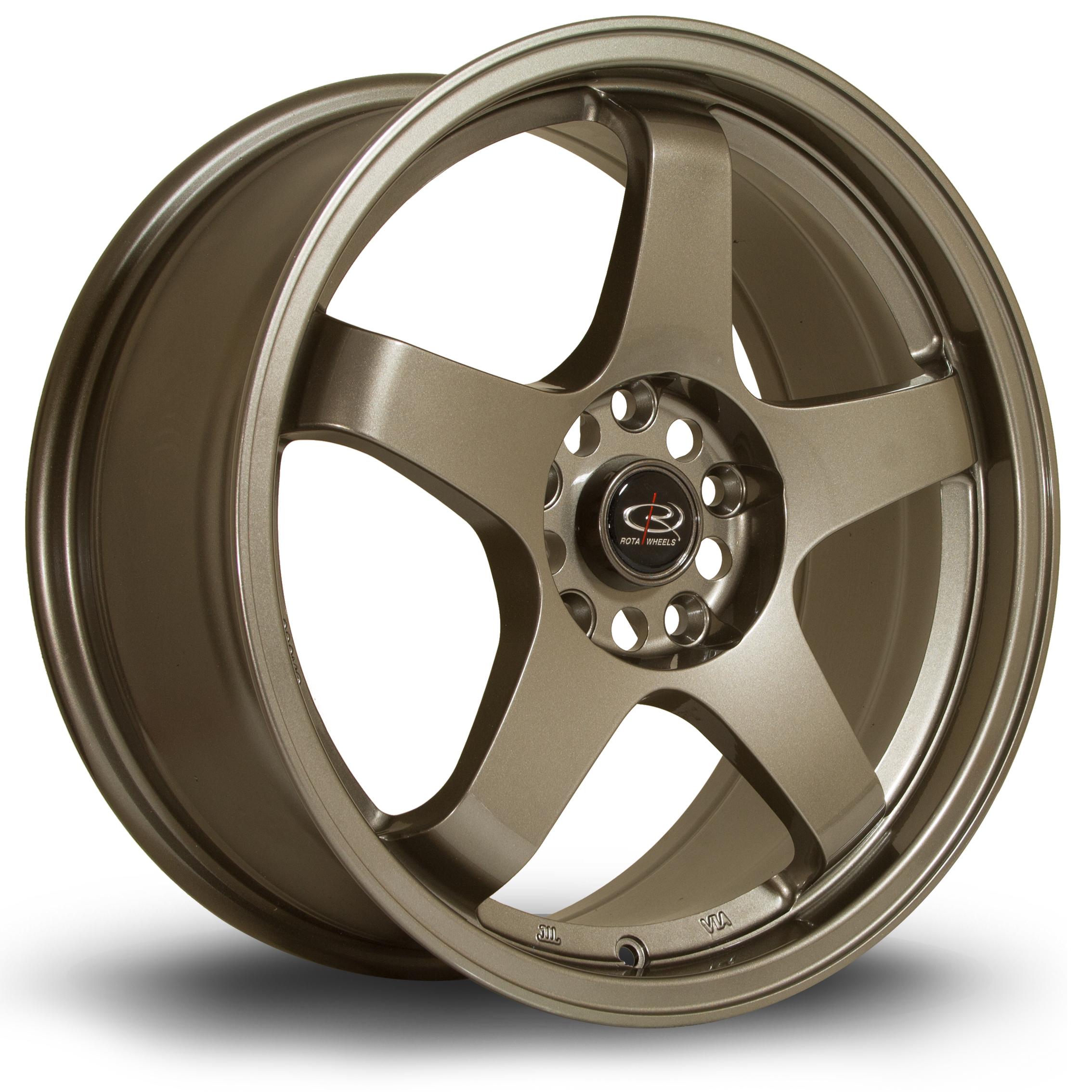 ROTA GTR hliníkové disky 7,5x17 5x114,3 ET45 Bronze