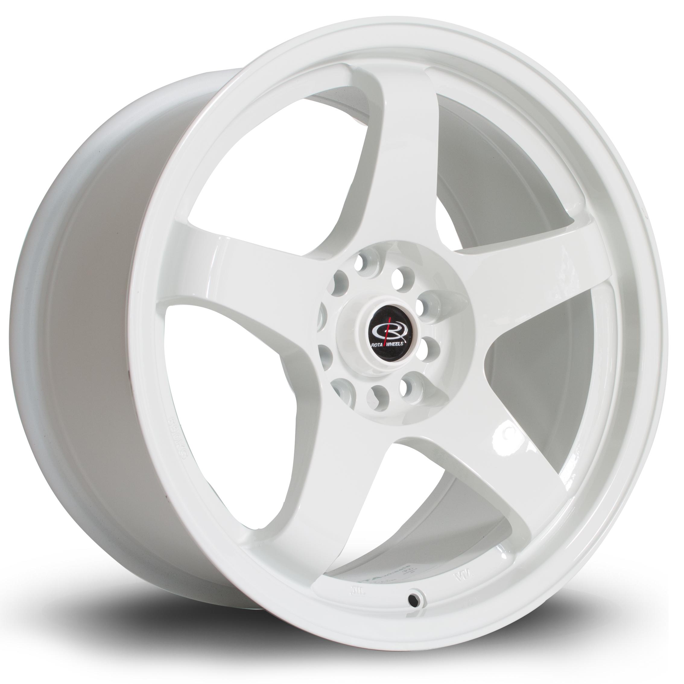 ROTA GTR hliníkové disky 9,5x17 4x114,3 ET25 White