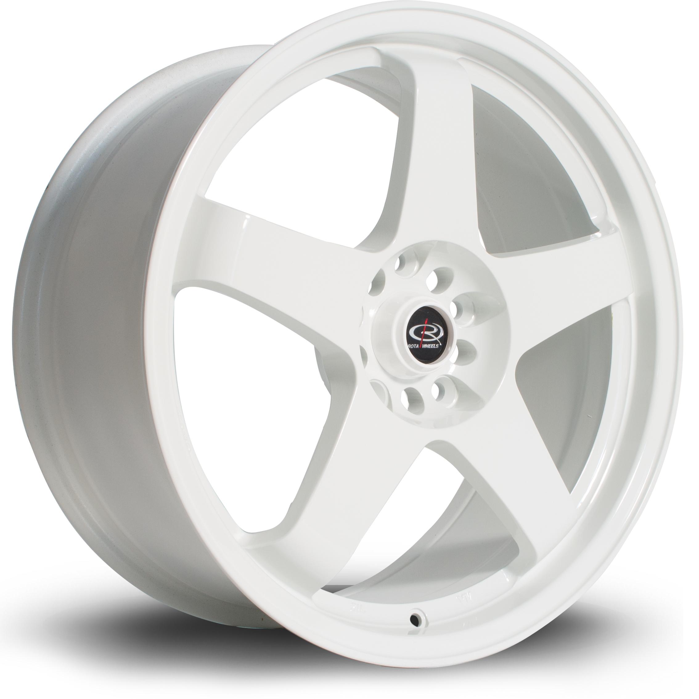ROTA GTR hliníkové disky 8x18 5x114,3 ET48 White