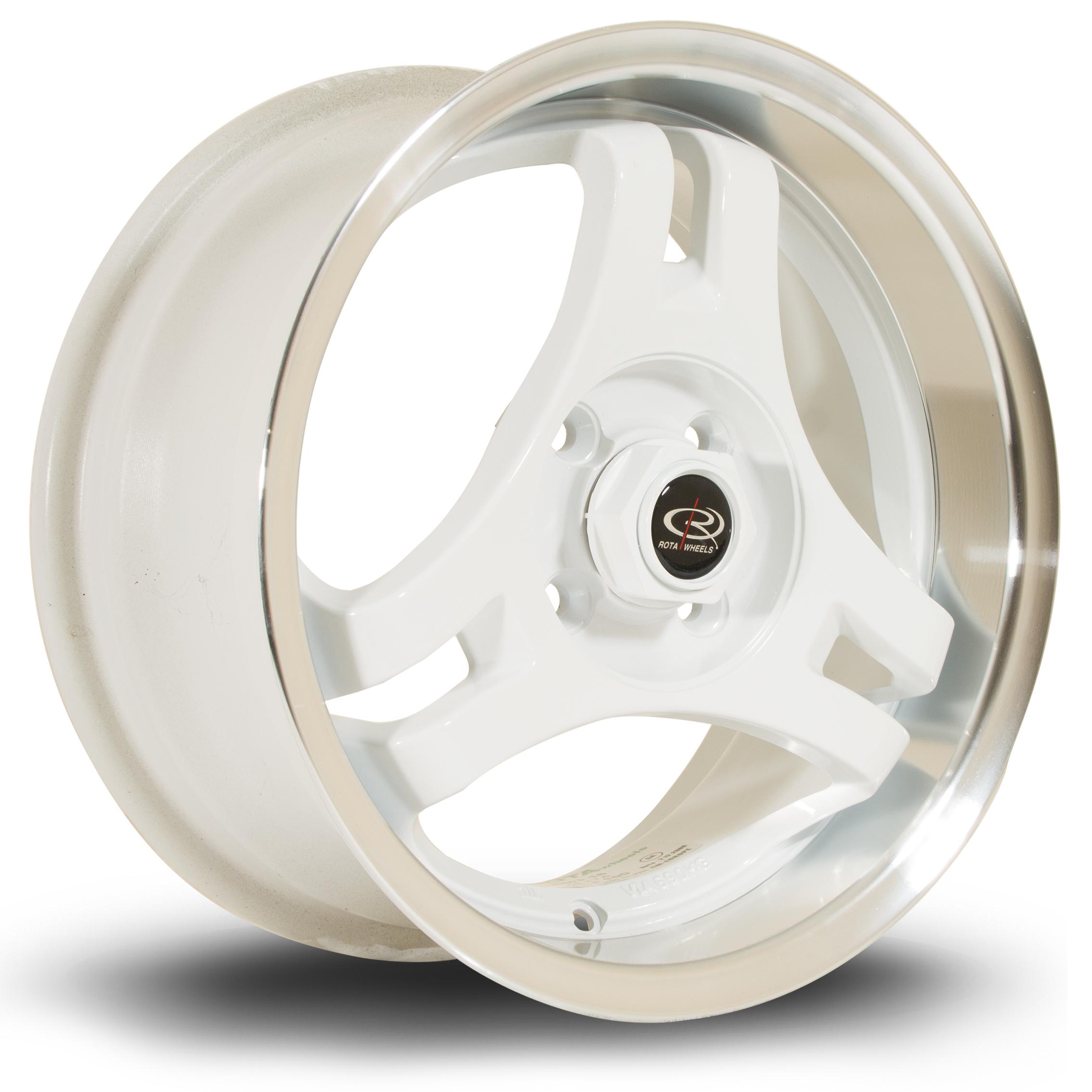 ROTA HM3 hliníkové disky 7x15 4x100 ET40 RLWhite