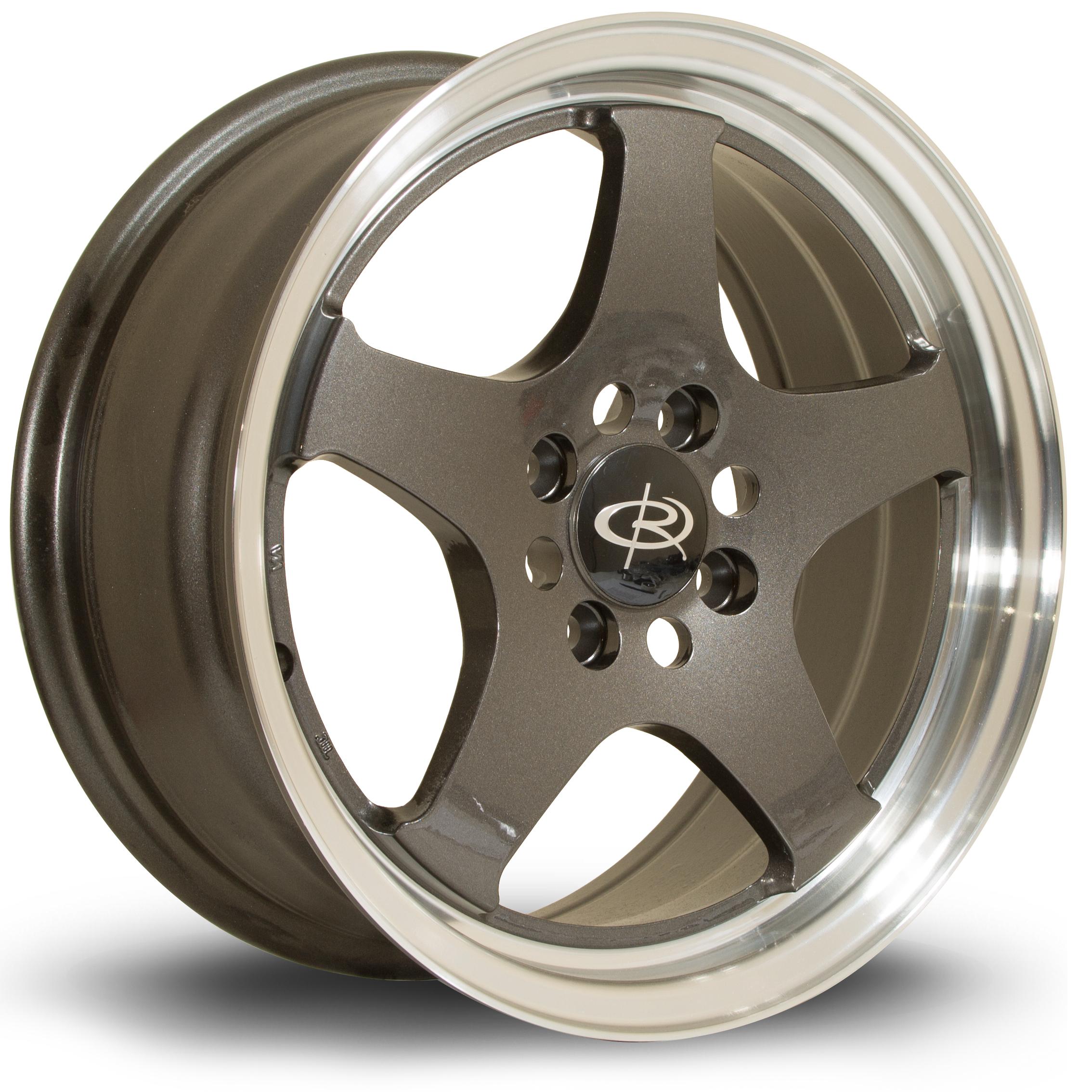 ROTA J-SPL hliníkové disky 6,5x15 4x100 ET37 RLGunmetal