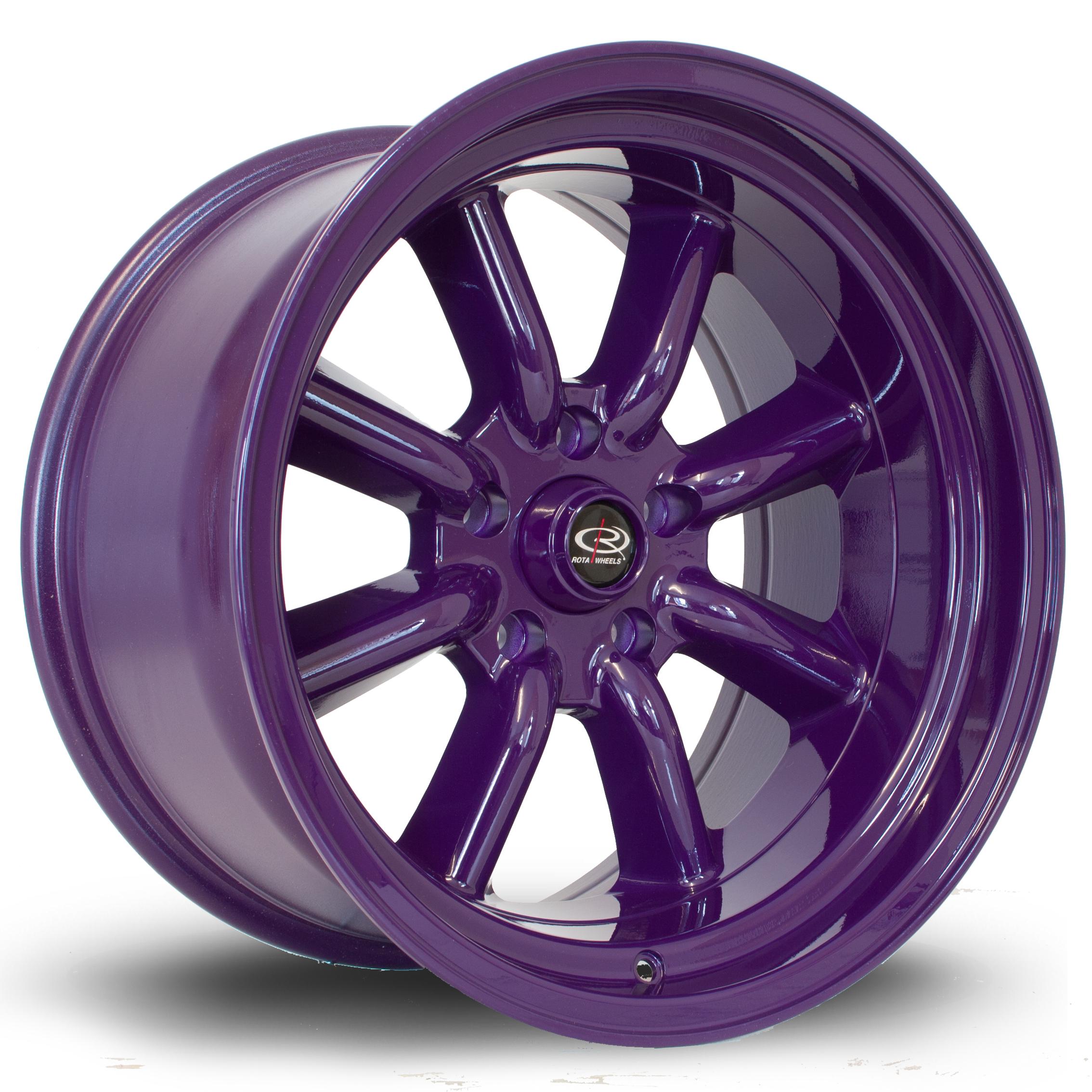 ROTA RKR hliníkové disky 9,5x17 5x114,3 ET-10 Violet