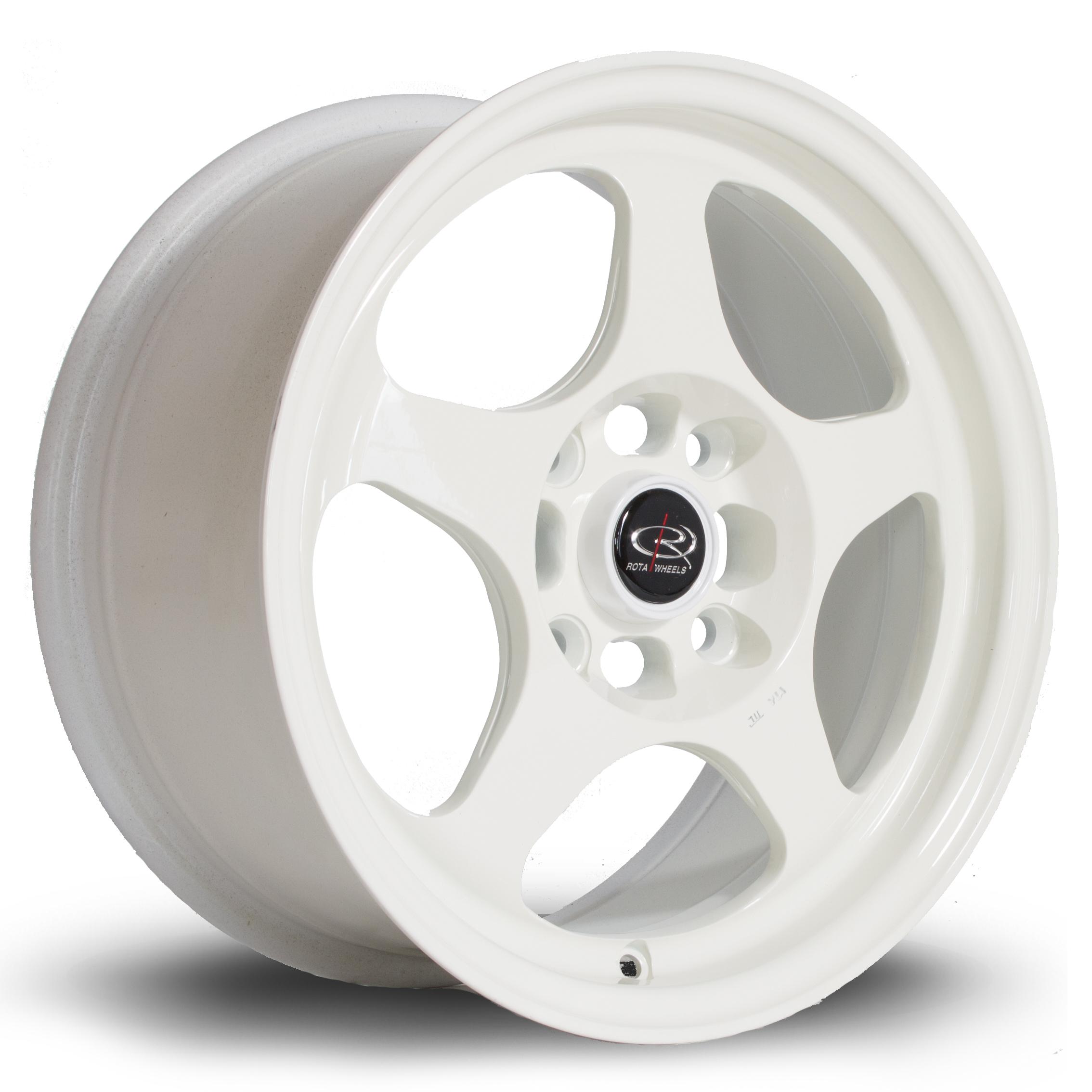 ROTA Slip hliníkové disky 7x15 4x114,3 ET40 CWhite