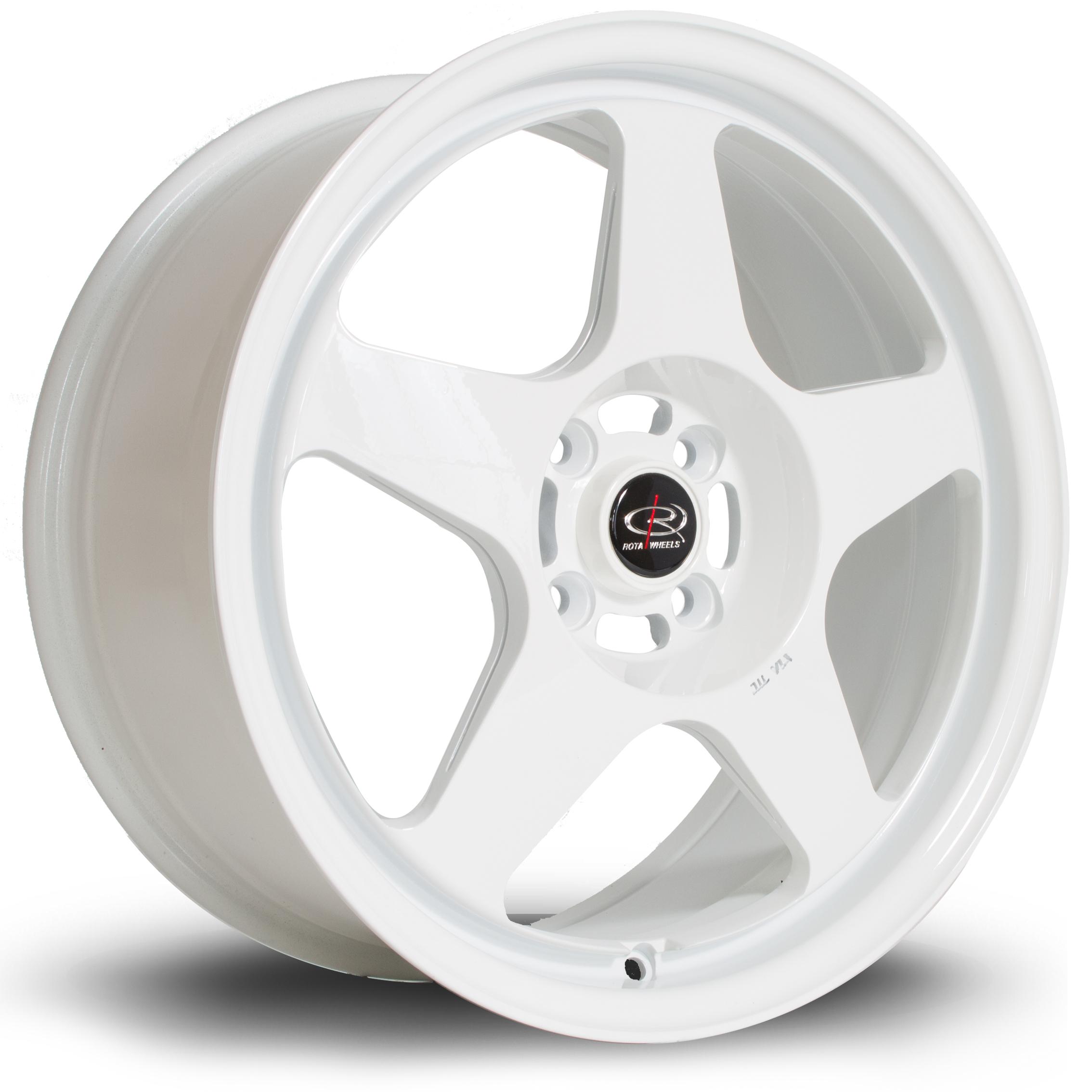 ROTA Slip hliníkové disky 7,5x17 4x100 ET45 White