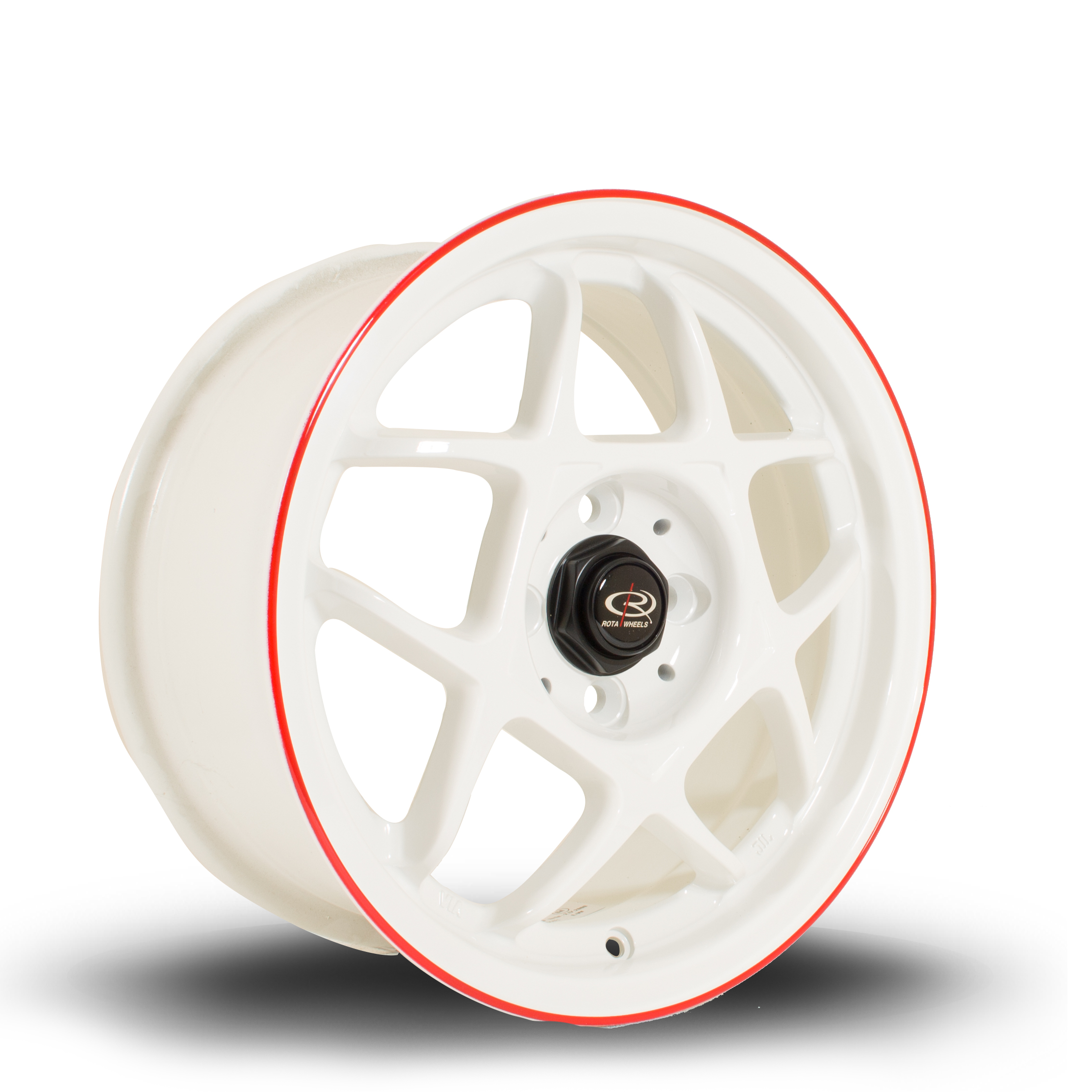 ROTA Speed5 hliníkové disky 7x15 4x100 ET40 WhiteRLip