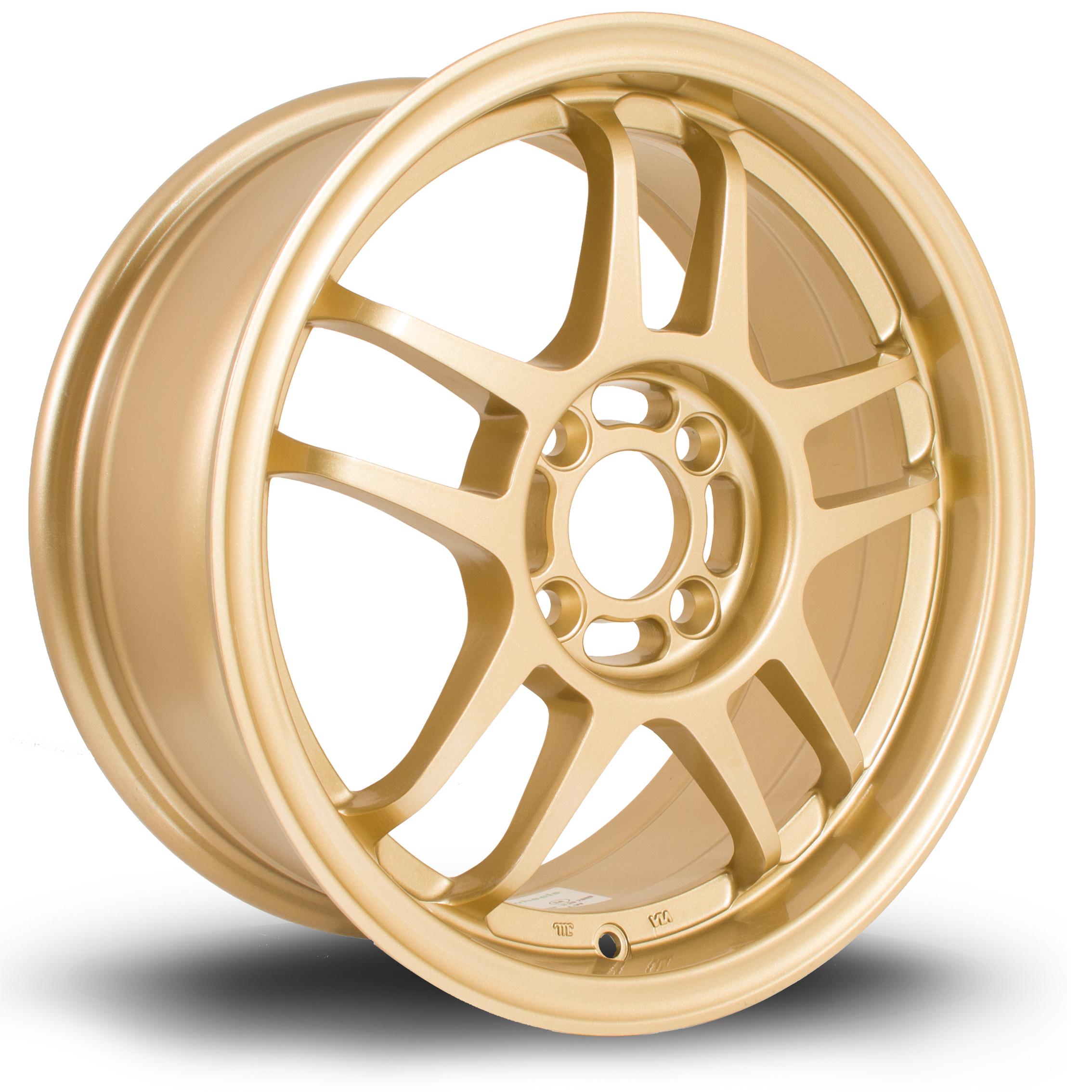 ROTA Sub hliníkové disky 6,5x15 4x100 ET40 Gold