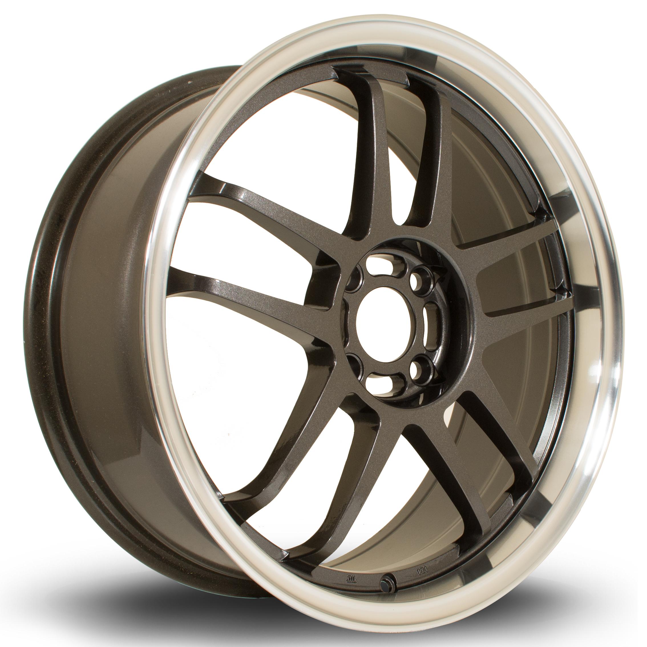 ROTA Sub hliníkové disky 7,5x18 4x108 ET45 RLGunmetal