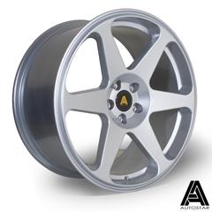 AUTOSTAR Chaser hliníkové disky 8,5x18 5x100 ET35 Silver