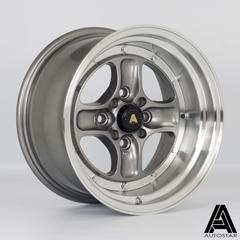 AUTOSTAR Classic hliníkové disky 8x15 4x100/114,3 ET0 RLGunmetal