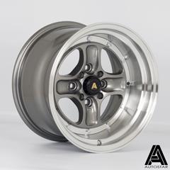 AUTOSTAR Classic hliníkové disky 9x15 4x100/114,3 ET0 RLGunmetal
