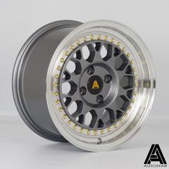 AUTOSTAR Corse hliníkové disky 8x15 4x100 ET25 RLGunmetal