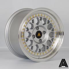 AUTOSTAR Corse hliníkové disky 8x15 4x100 ET25 RLSilver