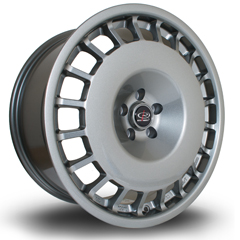 ROTA D154 hliníkové disky 8,5x18 5x100 ET30 Steelgrey