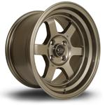 ROTA Grid-V hliníkové disky 8x15 4x114,3 ET0 Bronze