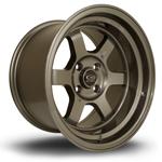 ROTA Grid-V hliníkové disky 9x15 4x114,3 ET0 Bronze