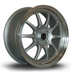 ROTA GT3 hliníkové disky 7,5x17 4x100 ET45 RLSilver