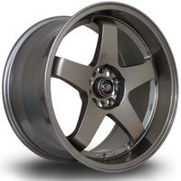 ROTA GTR-D hliníkové disky 10x18 5x114,3 ET12 Bronze
