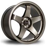 ROTA GTR hliníkové disky 9,5x18 5x114,3 ET12 Bronze