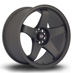 ROTA GTR hliníkové disky 9,5x18 5x114,3 ET30 FBlack2