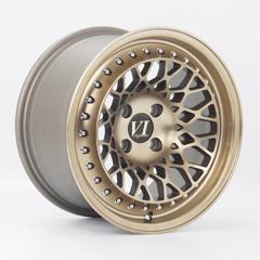 6-PERFORMANCE Infinity hliníkové disky 8,25x15 4x100 ET15 Gold