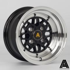 AUTOSTAR Korin hliníkové disky 6x12 4x101 ET-9 RLBlack