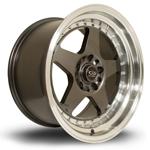 ROTA Kyusha hliníkové disky 9x17 5x114,3 ET12 RLGunmetal