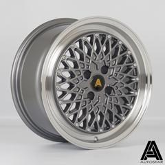 AUTOSTAR Minus hliníkové disky 7,5x16 4x100 ET25 RLGunmetal