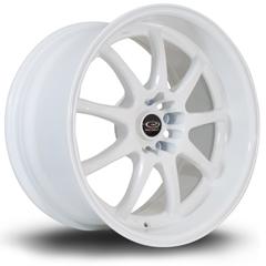 ROTA P1R hliníkové disky 9,5x18 5x114,3 ET12 White