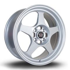 ROTA Slip hliníkové disky 7x16 4x100 ET40 Silver