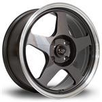 ROTA Slip hliníkové disky 7,5x17 4x100 ET45 RLGunmetal