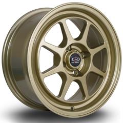 ROTA Spec8 hliníkové disky 7x15 4x100 ET35 Gold