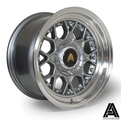 AUTOSTAR Sprint hliníkové disky 8x15 4x108/100 ET10 RLGunmetal