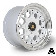 AUTOSTAR Sprint hliníkové disky 8x15 4x114,3/100 ET10 RLWhite