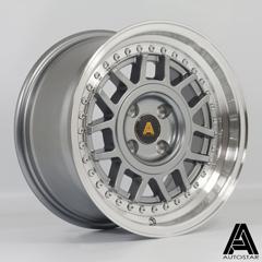 AUTOSTAR Storm hliníkové disky 8x15 4x100 ET25 RLGunmetal