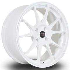 ROTA Titan hliníkové disky 7,5x17 4x108 ET40 White