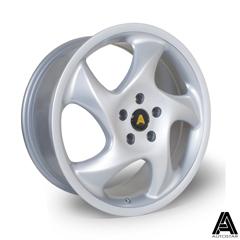 AUTOSTAR Twist hliníkové disky 8x18 5x112 ET45 Silver