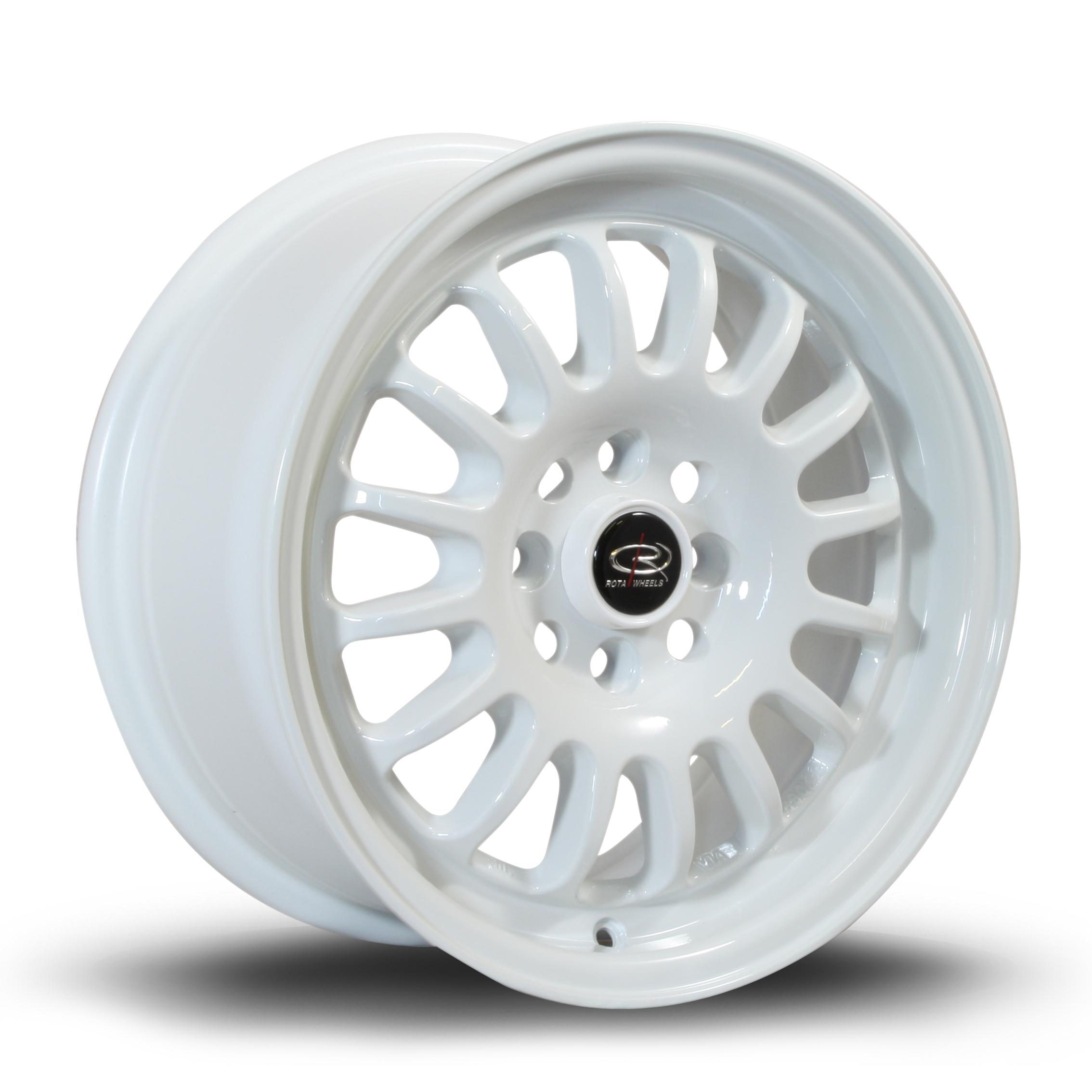 ROTA TrackR hliníkové disky 7x15 4x100 ET40 White